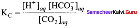 Samacheer Kalvi 11th Chemistry Solutions Chapter 8 Physical and Chemical Equilibrium-31