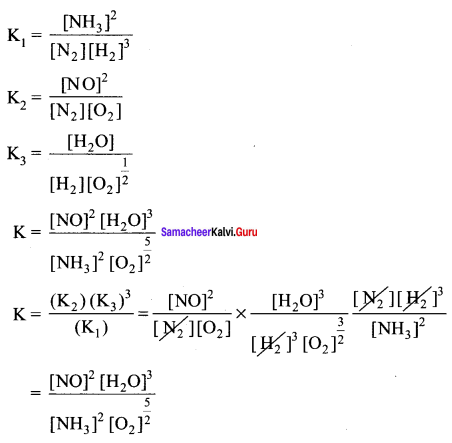Samacheer Kalvi 11th Chemistry Solutions Chapter 8 Physical and Chemical Equilibrium-143