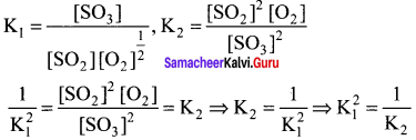 Samacheer Kalvi 11th Chemistry Solutions Chapter 8 Physical and Chemical Equilibrium-39