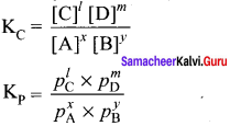 Samacheer Kalvi 11th Chemistry Solutions Chapter 8 Physical and Chemical Equilibrium-156