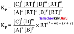 Samacheer Kalvi 11th Chemistry Solutions Chapter 8 Physical and Chemical Equilibrium-158