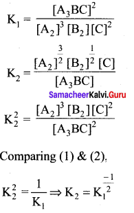 Samacheer Kalvi 11th Chemistry Solutions Chapter 8 Physical and Chemical Equilibrium-114