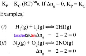 Samacheer Kalvi 11th Chemistry Solutions Chapter 8 Physical and Chemical Equilibrium-56