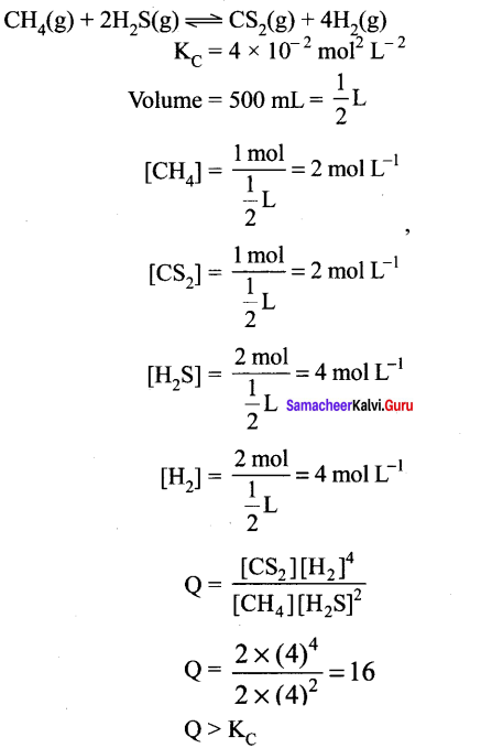Samacheer Kalvi 11th Chemistry Solutions Chapter 8 Physical and Chemical Equilibrium-166