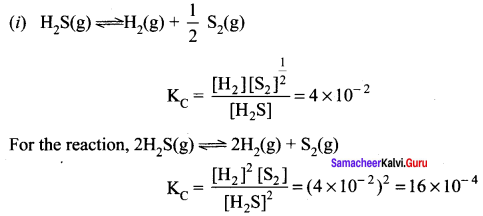 Samacheer Kalvi 11th Chemistry Solutions Chapter 8 Physical and Chemical Equilibrium-167