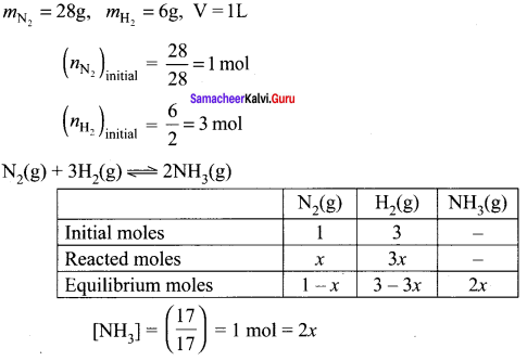 Samacheer Kalvi 11th Chemistry Solutions Chapter 8 Physical and Chemical Equilibrium-169