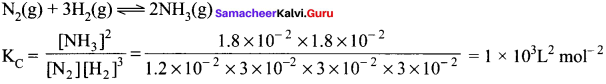 Samacheer Kalvi 11th Chemistry Solutions Chapter 8 Physical and Chemical Equilibrium-7
