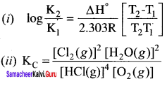 Samacheer Kalvi 11th Chemistry Solutions Chapter 8 Physical and Chemical Equilibrium-72