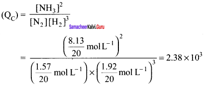 Samacheer Kalvi 11th Chemistry Solutions Chapter 8 Physical and Chemical Equilibrium-81