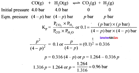 Samacheer Kalvi 11th Chemistry Solutions Chapter 8 Physical and Chemical Equilibrium-84