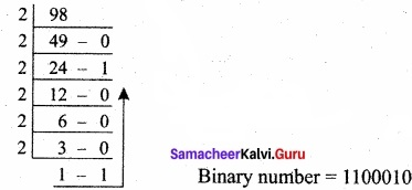 Samacheer Kalvi 11th Computer Applications Solutions Chapter 2 Number Systems img 10