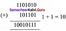Samacheer Kalvi 11th Computer Applications Solutions Chapter 2 Number Systems img 13