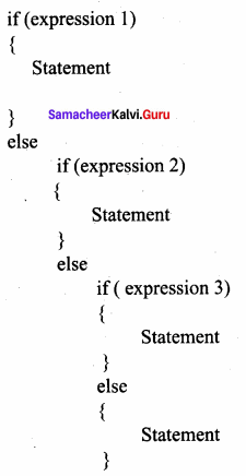 Samacheer Kalvi 11th Computer Science Solutions Chapter 10 Flow of Control 15