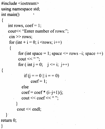 Samacheer Kalvi 11th Computer Science Solutions Chapter 10 Flow of Control 24