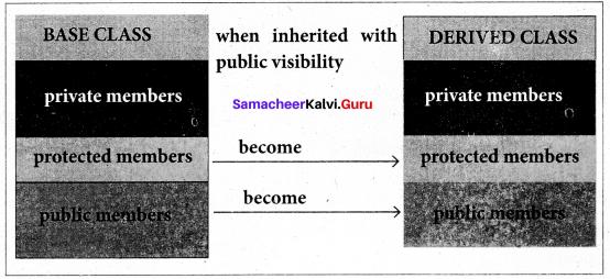Samacheer Kalvi 11th Computer Science Solutions Chapter 16 Inheritance 3