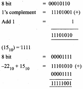 Class 11 Computer Science Chapter 2 Solutions Samacheer Kalvi Number Systems