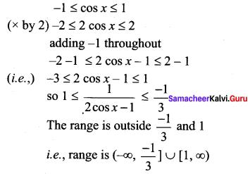 Exercise 1.3 Class 11 Maths Solutions Chapter 1 Sets Samacheer Kalvi