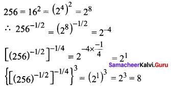 Samacheer Kalvi 11th Maths Solutions Chapter 2 Basic Algebra Ex 2.11 7