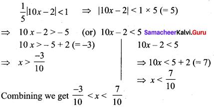 Samacheer Kalvi 11th Maths Solutions Chapter 2 Basic Algebra Ex 2.2 11