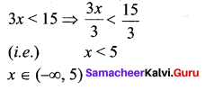 Samacheer Kalvi 11th Maths Solution Chapter 2 Basic Algebra Ex 2.3