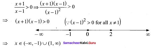 Samacheer Kalvi 11th Maths Solutions Chapter 2 Basic Algebra Ex 2.5 9