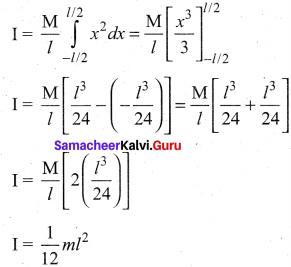 11 Physics Samacheer Solutions Chapter 5 Motion Of System Of Particles And Rigid Bodies