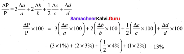 Samacheer Kalvi 11th Physics Solutions Chapter 1 Nature of Physical World and Measurement 120