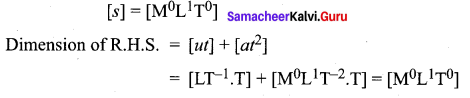 Samacheer Kalvi 11th Physics Solutions Chapter 1 Nature of Physical World and Measurement 140