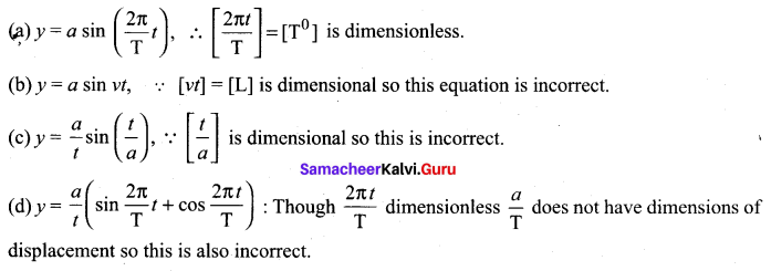 Samacheer Kalvi 11th Physics Solutions Chapter 1 Nature of Physical World and Measurement 146