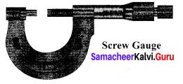 Physics Class 11 Chapter 1 Samacheer Kalvi Nature Of Physical World And Measurement