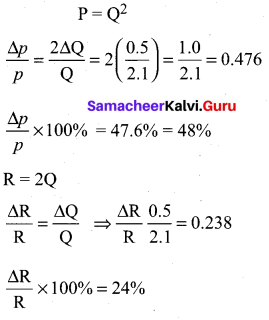 Samacheer Kalvi 11th Physics Solutions Chapter 1 Nature of Physical World and Measurement 249