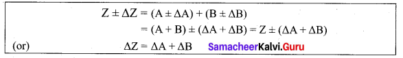 11th Physics Chapter 1 Numerical Problems Samacheer Kalvi Nature Of Physical World And Measurement