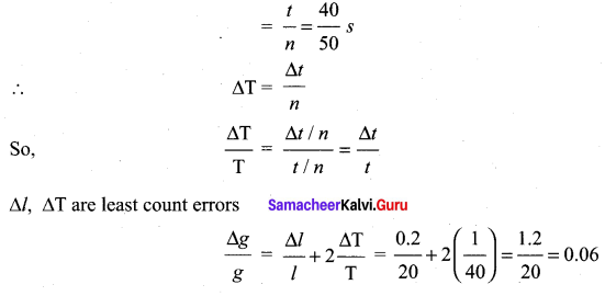 Samacheer Kalvi 11th Physics Solutions Chapter 1 Nature of Physical World and Measurement 39