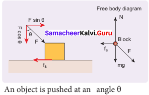 Samacheer Kalvi Guru 11th Physics Solutions Chapter 3 Laws Of Motion
