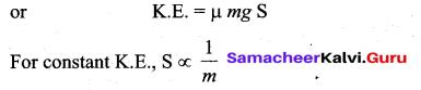Samacheer Kalvi 11th Physics Solutions Chapter 4 Work, Energy and Power 125