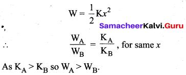 Samacheer Kalvi 11th Physics Solutions Chapter 4 Work, Energy and Power 139