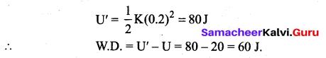 Samacheer Kalvi 11th Physics Solutions Chapter 4 Work, Energy and Power 154