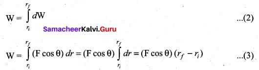 Samacheer Kalvi 11th Physics Solutions Chapter 4 Work, Energy and Power 33