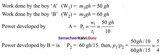 Samacheer Kalvi 11th Physics Solutions Chapter 4 Work, Energy and Power 94