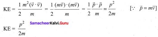 Samacheer Kalvi 11th Physics Solutions Chapter 4 Work, Energy and Power 98