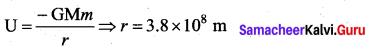Samacheer Kalvi 11th Physics Solutions Chapter 6 Gravitation 133
