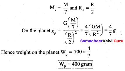 Samacheer Kalvi 11th Physics Solutions Chapter 6 Gravitation 18