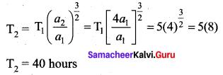 Samacheer Kalvi 11th Physics Solutions Chapter 6 Gravitation 2