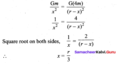 Samacheer Kalvi 11th Physics Solutions Chapter 6 Gravitation 204