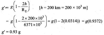 Samacheer Kalvi 11th Physics Solutions Chapter 6 Gravitation 224