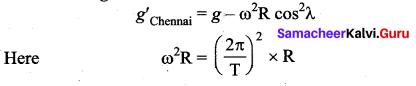 Samacheer Kalvi 11th Physics Solutions Chapter 6 Gravitation 225