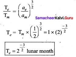 Samacheer Kalvi 11th Physics Solutions Chapter 6 Gravitation 4
