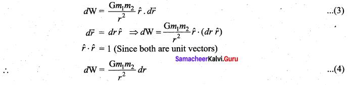 Samacheer Kalvi 11th Physics Solutions Chapter 6 Gravitation 54