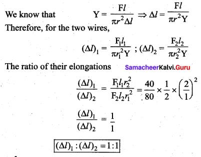 Samacheer Kalvi 11th Physics Solutions Chapter 7 Properties of Matter 190
