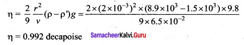 Samacheer Kalvi 11th Physics Solutions Chapter 7 Properties of Matter 206